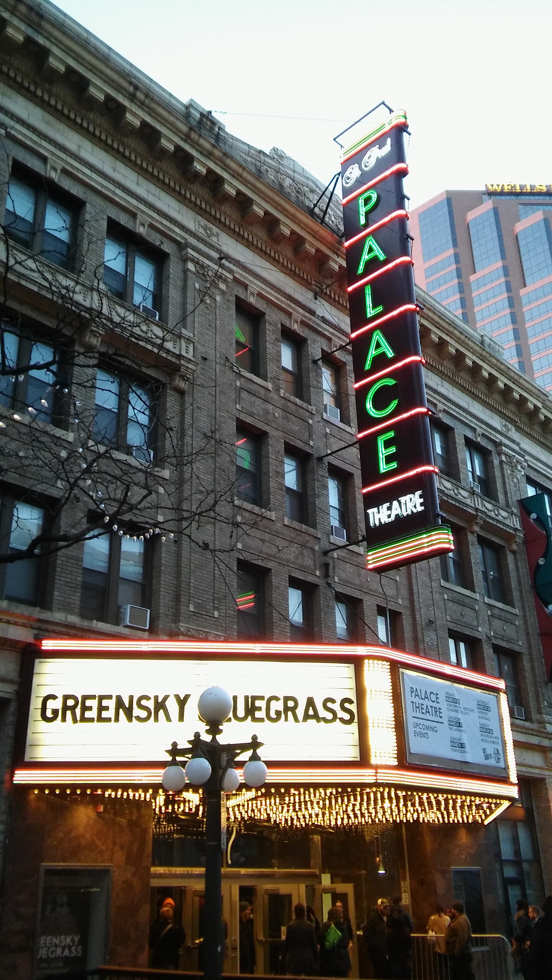 Greensky Bluegrass at The Palace Theater