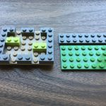 Lego cord organizer top open side-by-side