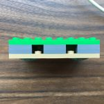 Lego cord organizer front view